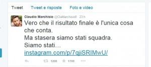 Marchisio tweet