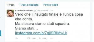 Marchisio tweet