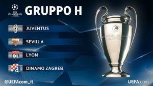 champions 2016 2017 girone h juventus