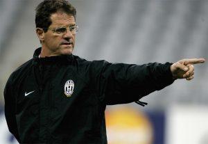 Capello ai tempi della Juventus