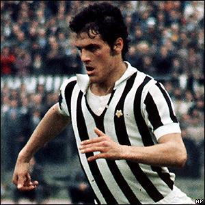 Capello nella sua prima annata alla Juventus, 1970