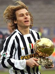 Nedved pallone d'oro 2003