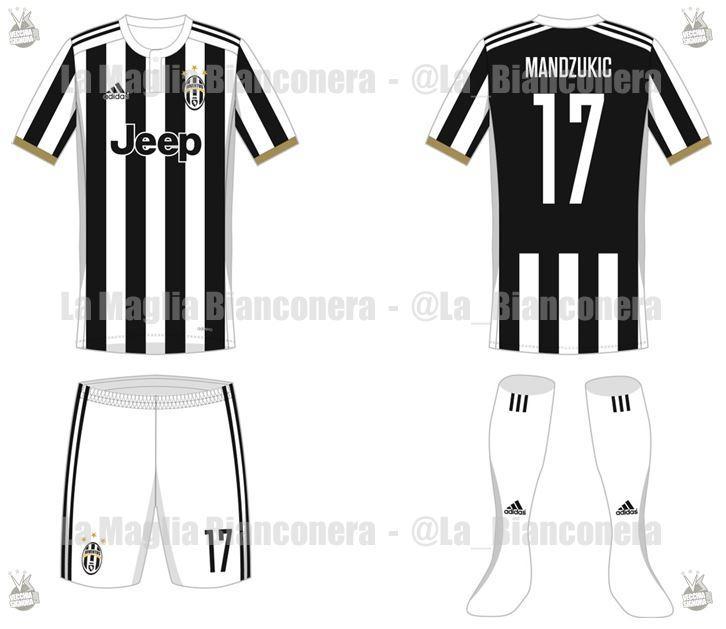 PHOTOGALLERY – Maglie Juventus 2017-2018  tornano le righe più ... 7228435f81a