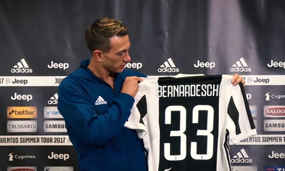Seconda Maglia Juventus FEDERICO BERNARDESCHI