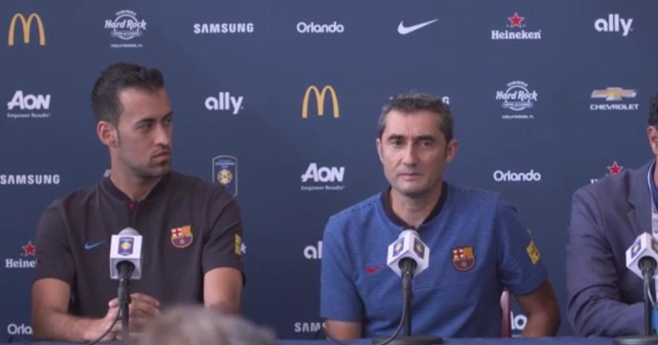 Barcelona, Valverde su Iniesta: