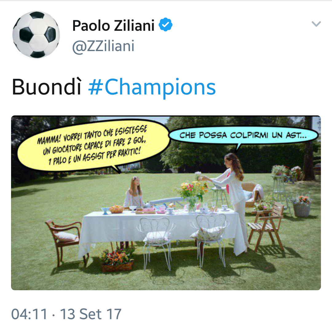 Post champions league l 39 ironia di ziliani su twitter foto for Ziliani twitter