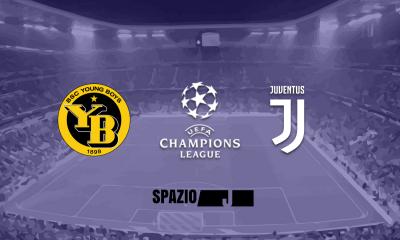 formazioni ufficiali Young Boys-Juventus