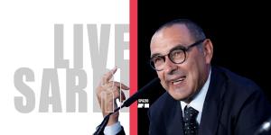 Live Sarri Conferenza