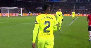 Barcellona, Semedo ai saluti: la Juve è vigile