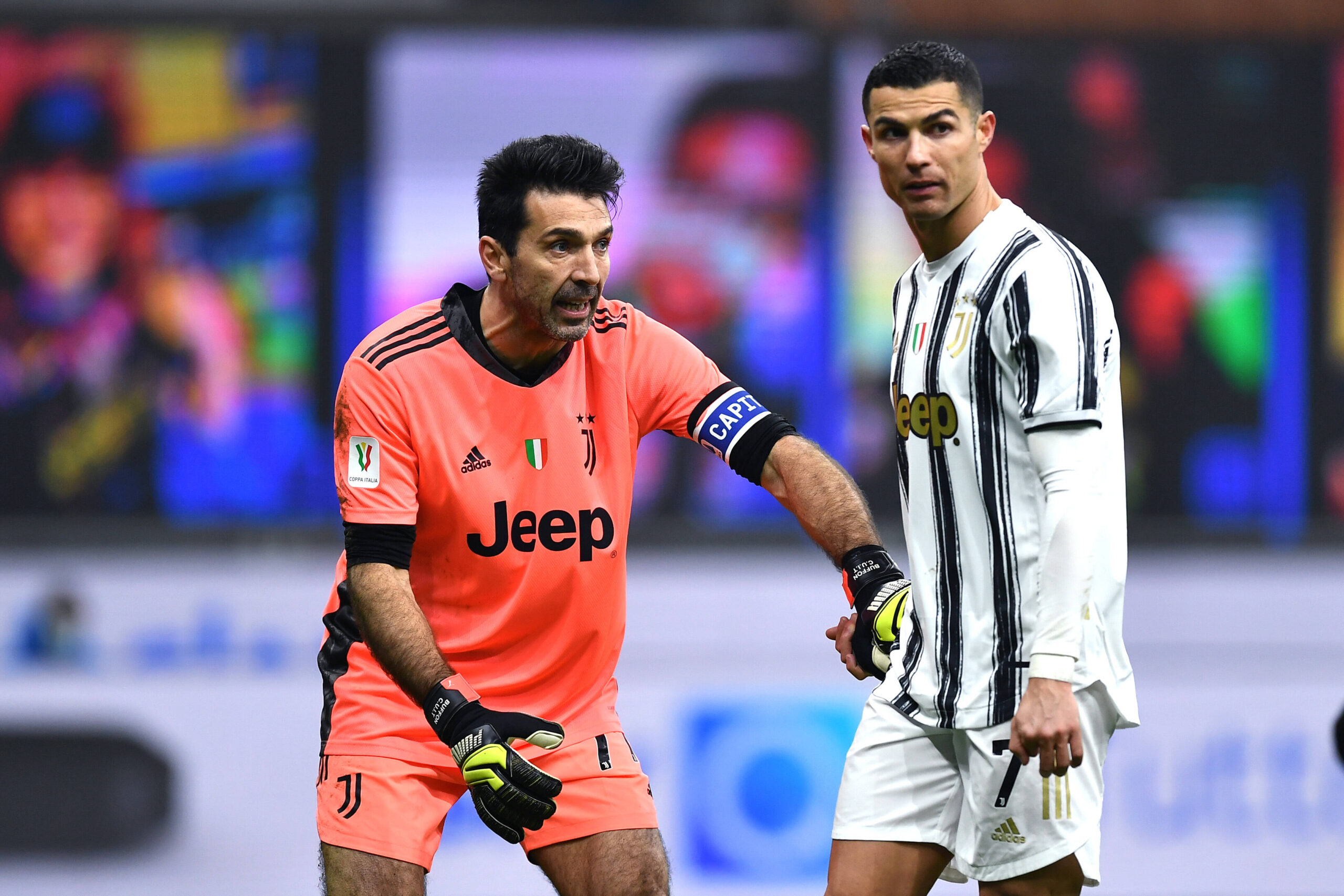 Ronaldo Buffon Juventus