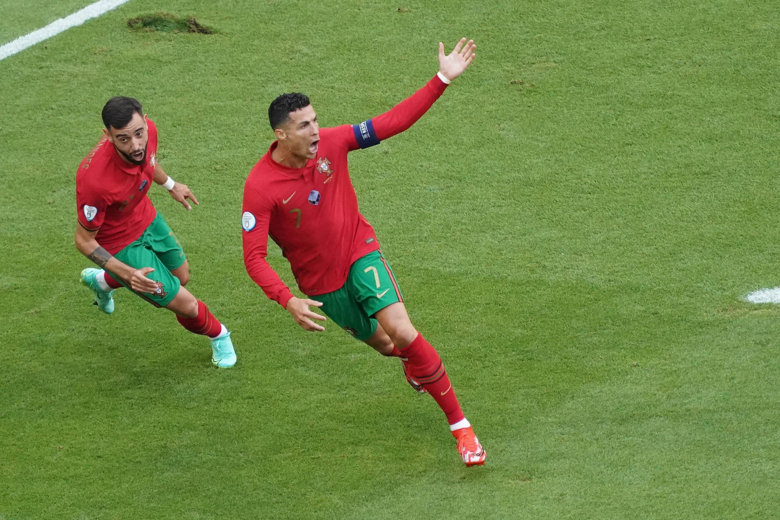 Allegri parla di Cristiano Ronaldo