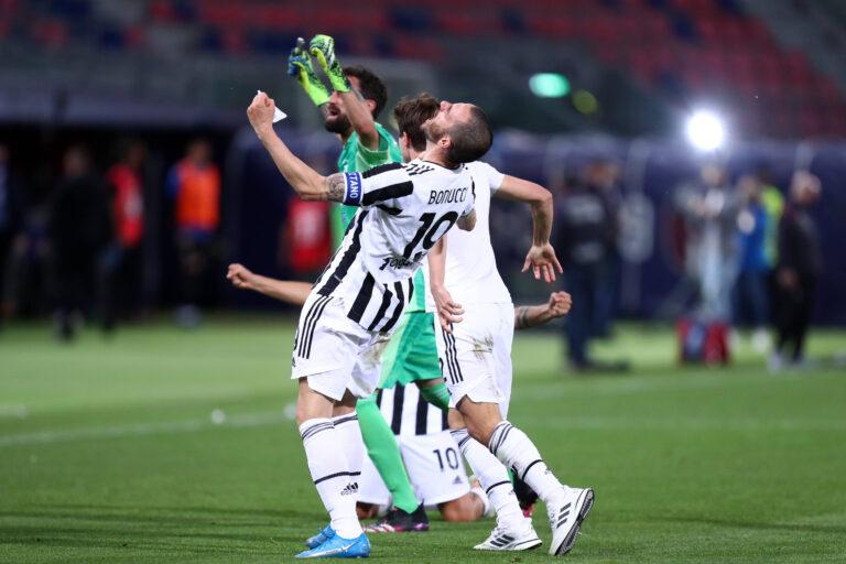 Allegri declassa Bonucci dai gradi di vicecapitano della Juve