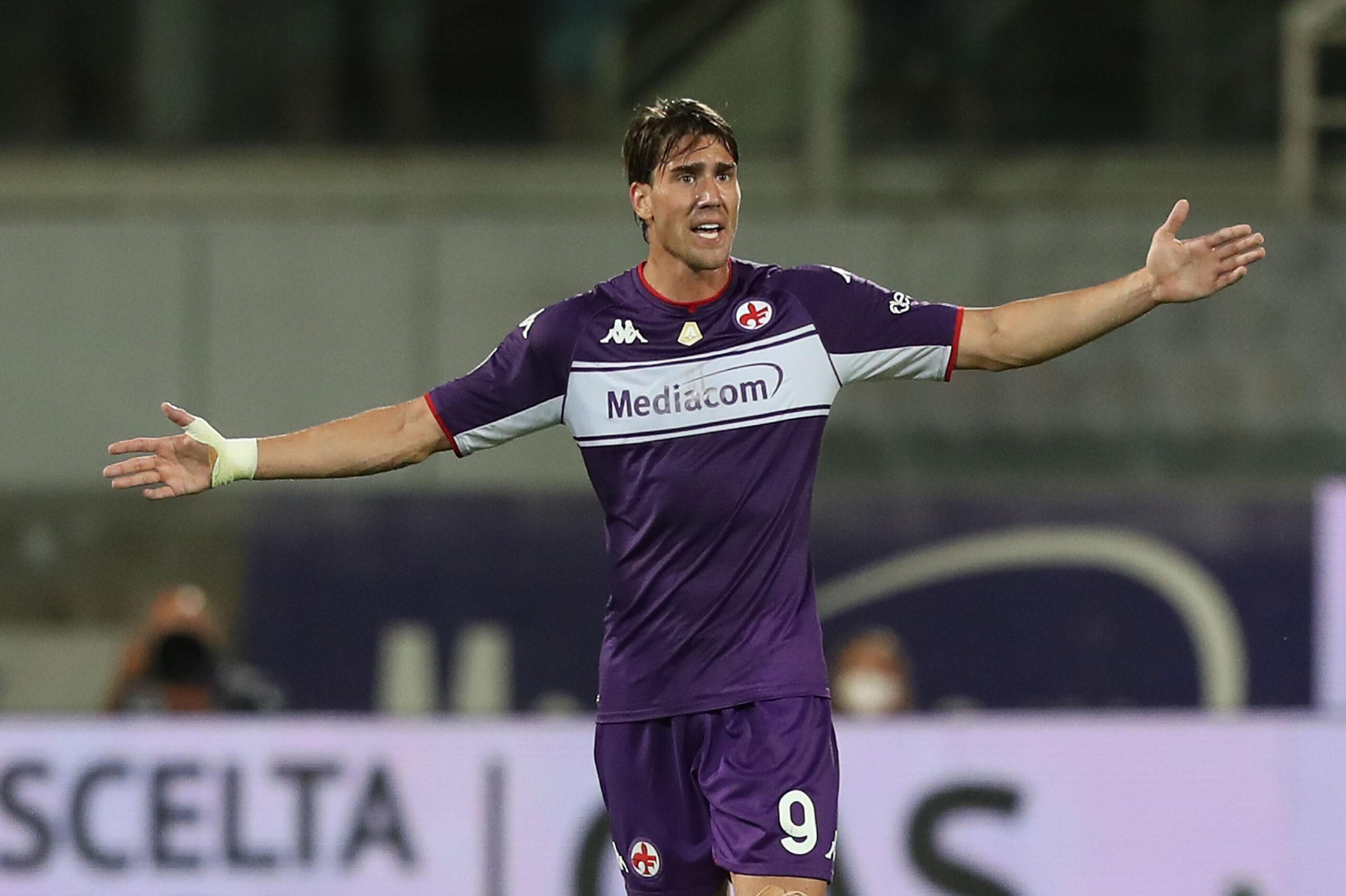 Vlahović, Fiorentina, Juventus