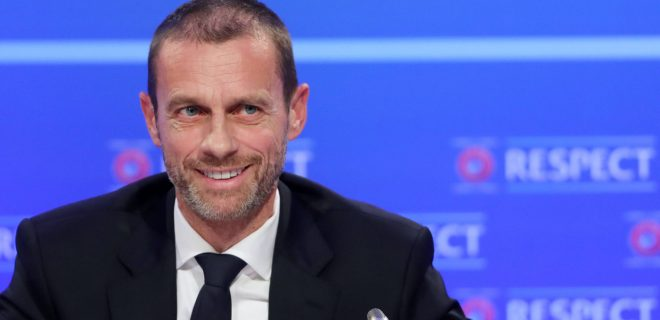 Euro 2020 Preview Package File photo dated 03-12-2018 of UEFA President Aleksander Ceferin. Issue date: Tuesday June 1, 2021. FILE PHOTO FILE PHOTO PUBLICATIONxINxGERxSUIxAUTxONLY Copyright: xNiallxCarsonx 60118230
