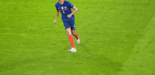 Raphael Varane  4 - France  - FOOTBALL : France vs Allemagne - Munich - 15/06/2021 FedericoPestellini/Panoramic PUBLICATIONxNOTxINxFRAxITAxBEL