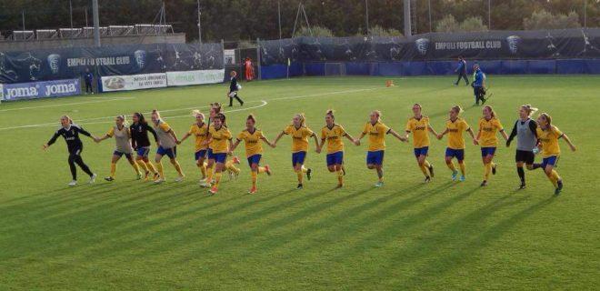 Juve femminile Juventus women giallo Empoli ladies spazioj 2017 2018