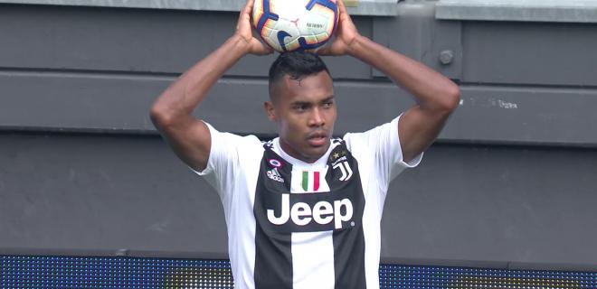 Alex Sandro Juventus SpazioJ 2018
