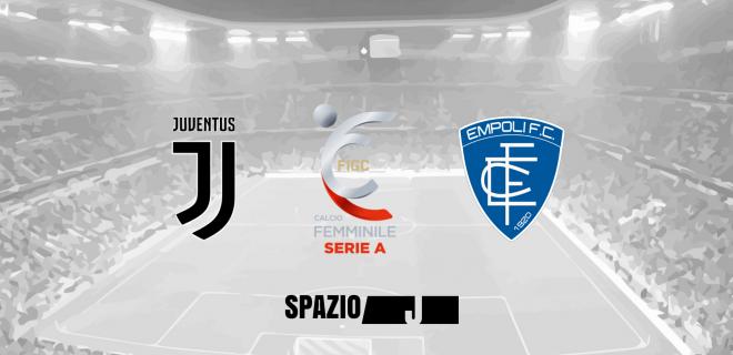 Banner Juventus Empoli Femminile