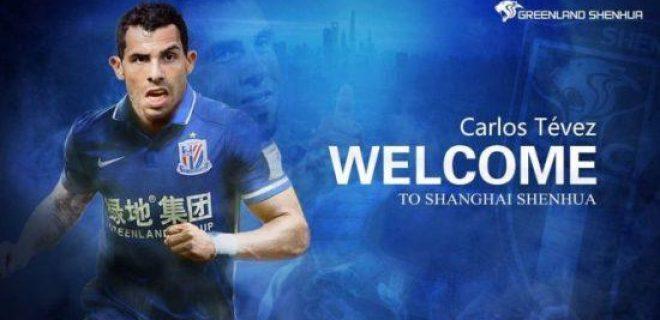 Chinese Super League 2017 Tevez