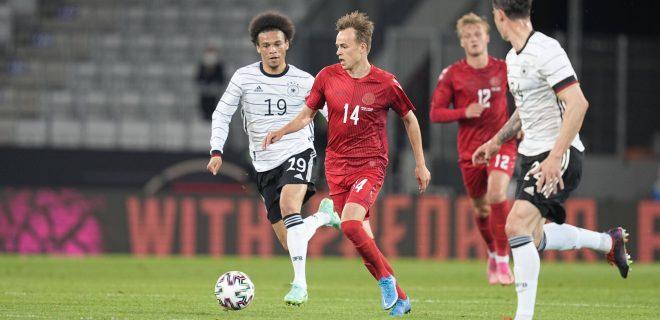 Germany - Denmark Denmarks Mikkel Damsgaard during the friendly pre Euro 2021 match between Germany and Denmark at Tivoli Stadium, Innsbruck , Austria on June 2, 2021. Innsbruck Austria pedersen-germanyd210602_nppTb PUBLICATIONxNOTxINxFRA Copyright: xUlrikxPedersenx