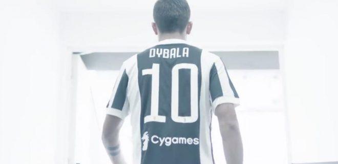 paulo dybala juventus 2017 2018 dybala 10 dybala maglia numero 10 spazioj 6