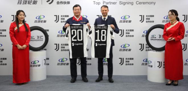 Linglong Tire Juventus partnership Cina spazioj 2018