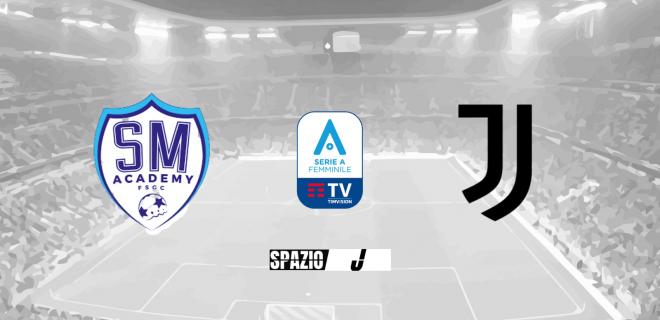 San Marino Juventus Women banner