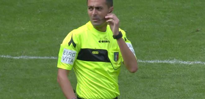 Arbitro Marco Di Bello
