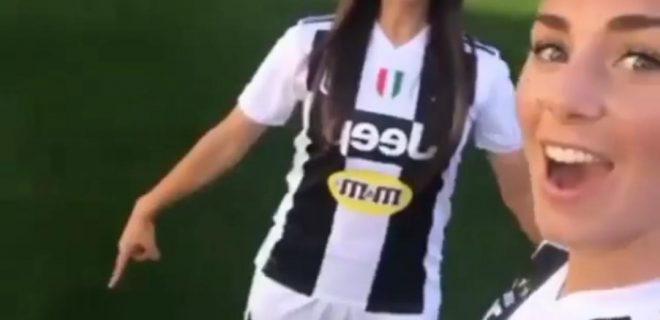 Arianna Caruso e Petronella Ekroth - Juventus Women
