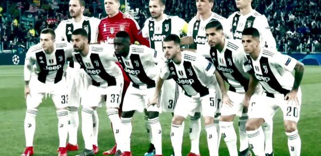 Juventus 2018/2019 foto squadra
