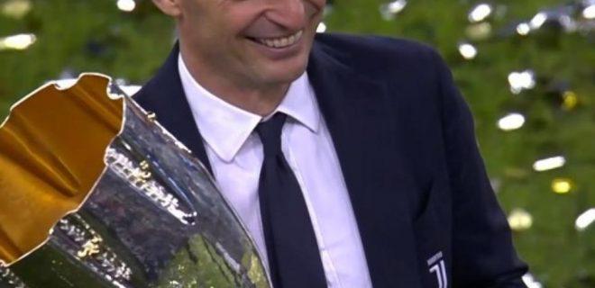 Massimiliano Allegri Supercoppa