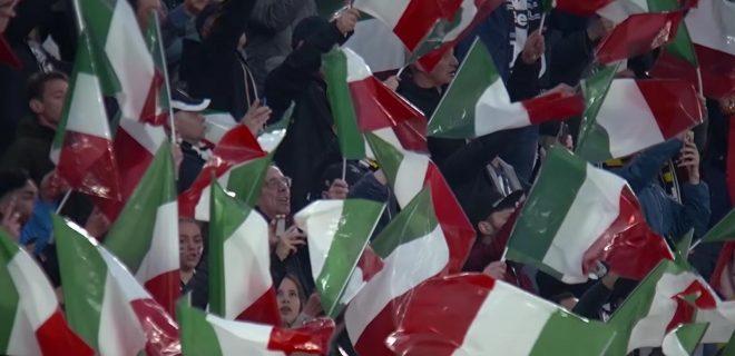 Tifosi Juve in festa scudetto