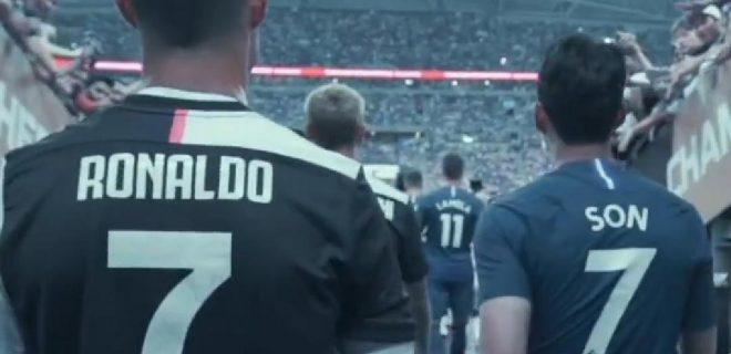 International Champions Cup Ronaldo e Son