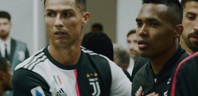 Cristiano Ronaldo e Alex Sandro