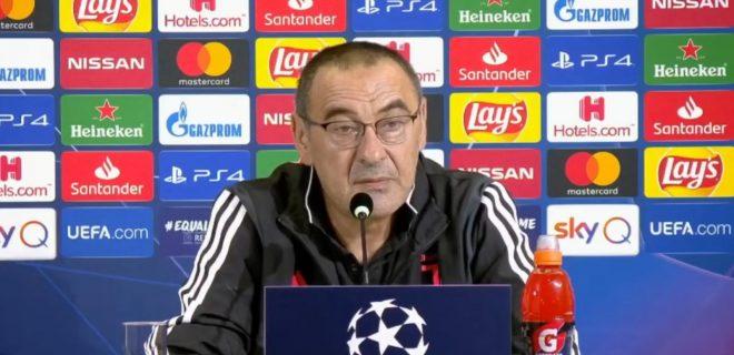 Maurizio Sarri conferenza stampa