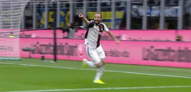 Gonzalo Higuain goal vs Inter