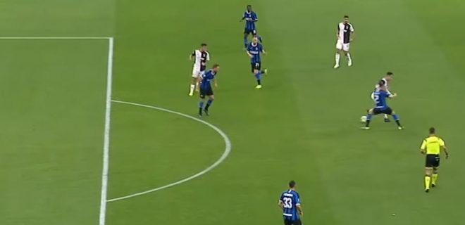 Fuorigioco Dybala Inter-Juventus