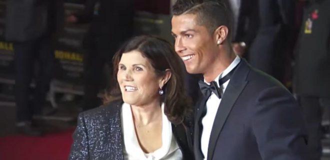 Ronaldo e mamma Dolores