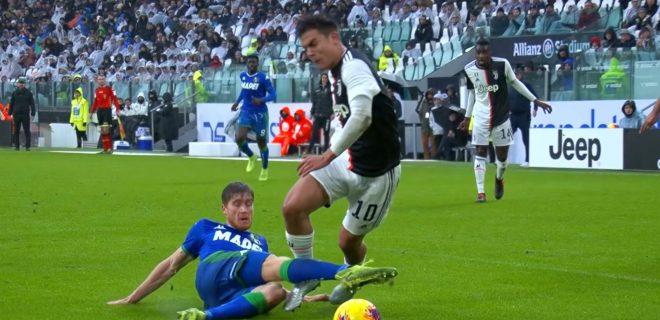 Romagna su Dybala calcio di rigore
