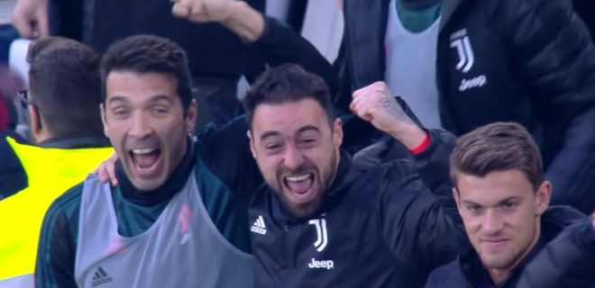 Buffon Pinsoglio e Rugani