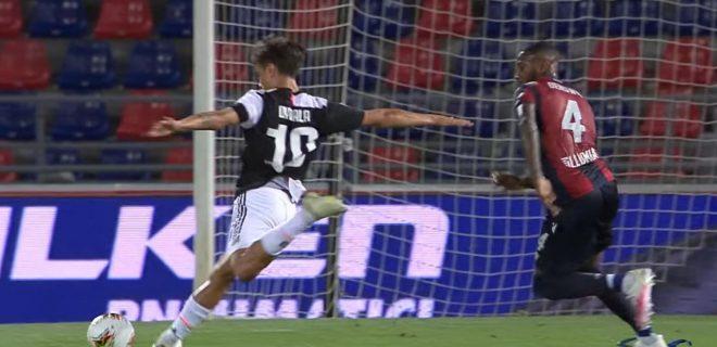 Dybala gol Bologna