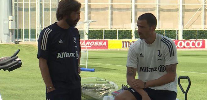 Pirlo e Bonucci