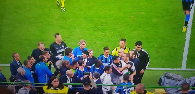 Inter Juve rissa