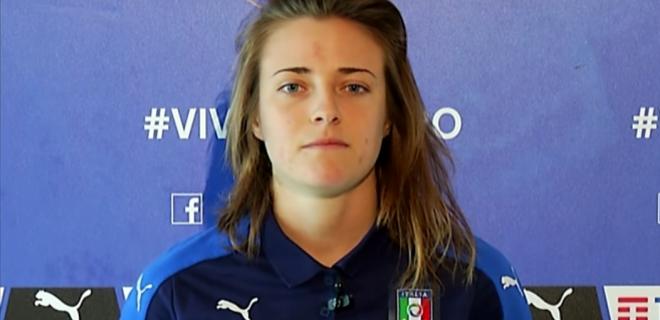 Aurora Galli, 20 anni, centrocampista centrale