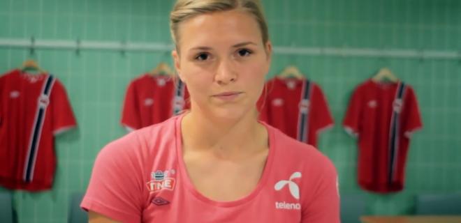 Ingvild Isaksen, 28 anni, centrocampista