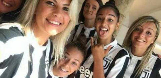 juve femminile juventus women sodini bonansea rosucci panzeri devoto boattin spazioj 2017 2018