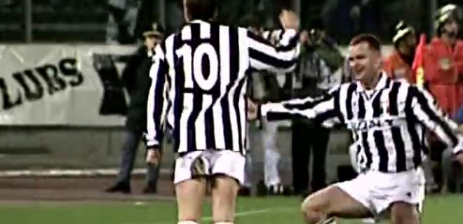 juventus real madrid precedenti del piero 1996 champions league spazioj