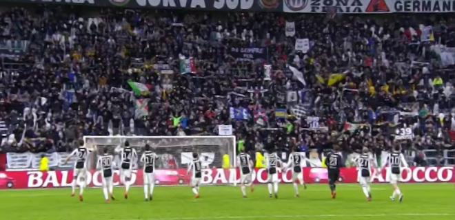 juventus squadra gol goal festa corsa spazioj 2018