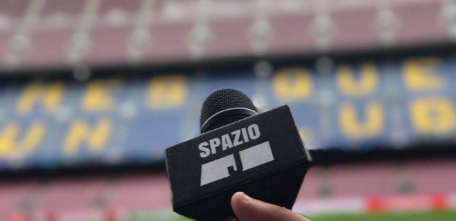 microfono spazioj barcellona camp nou juve juventus 2017 2018 champions league logo