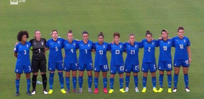 nazionale italiana women